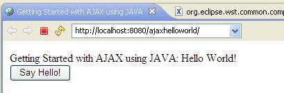 Getting Started with AJAX using Java - Javapapers
