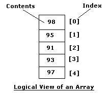 java array logical view