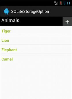 List Database