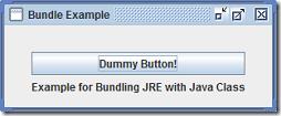 Executable Java Jar File and Windows Exe File Creation