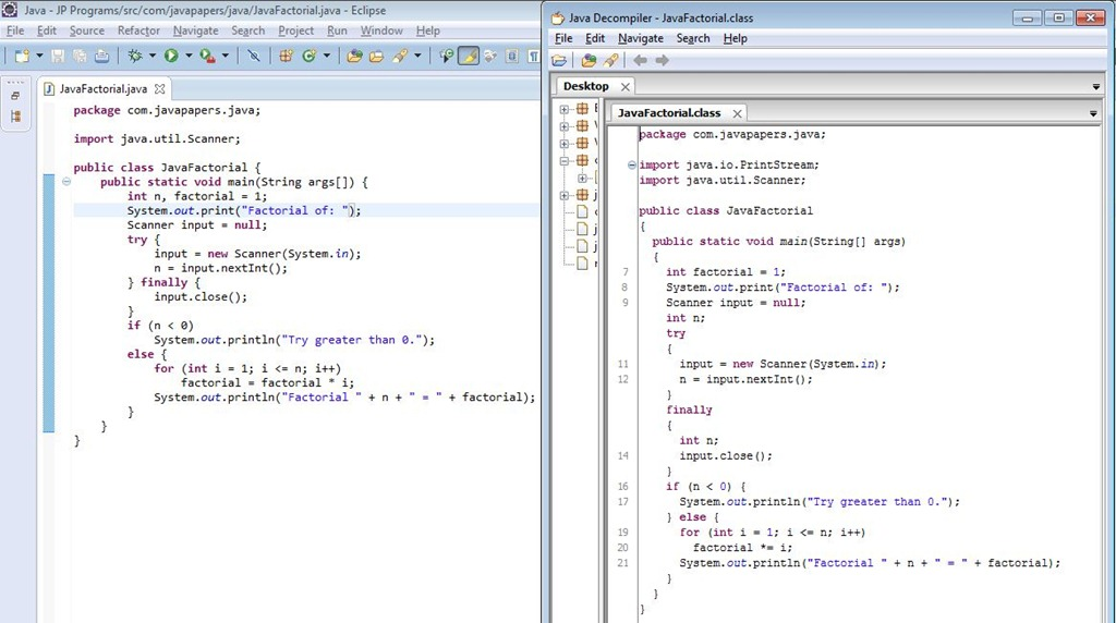 java decompiler tool for eclipse