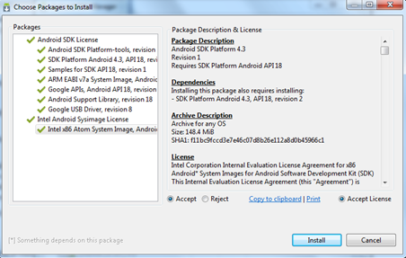 Android Package Installation 2