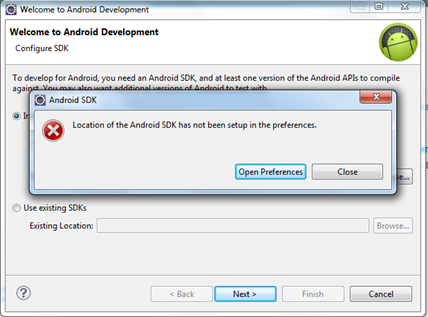 Android SDK Preference