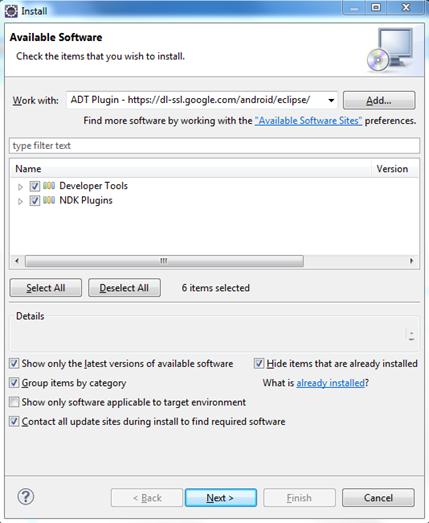 Install ADT Plugin
