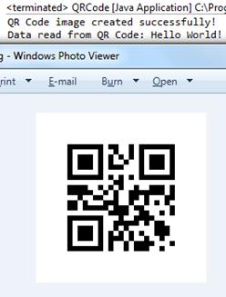 Java QR Code - Javapapers