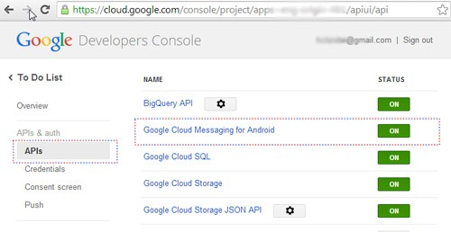 Enable-Google-Cloud-Messaging