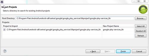 Import Google Lib