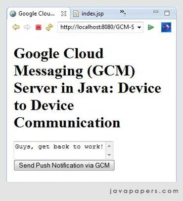 Multicast-Message-from-GCM-Server