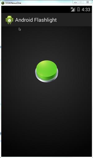 Android-Flashlight-On