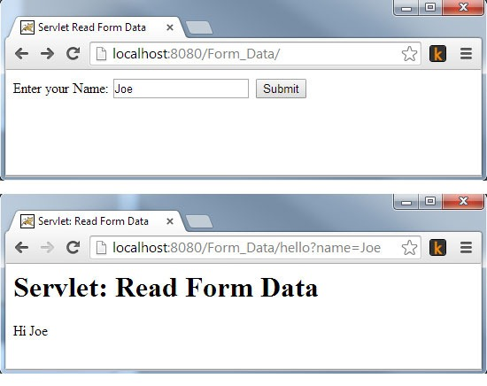 Servlet-Read-Form-Data