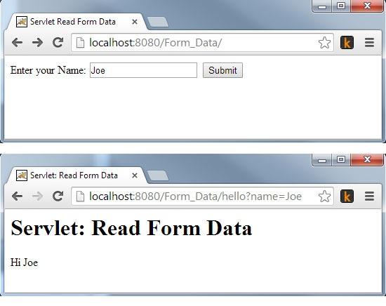 Servlet-Read-Form-Data