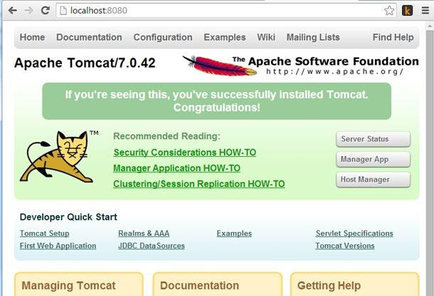 Tomcat-Start-Page
