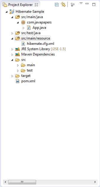 Hibernate Configuration And SessionFactory Instantiation - Javapapers