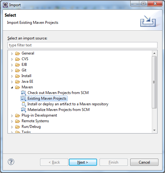 Import-Maven-Project-Expand-Maven-Menu-Exisiting-Maven-Projects[3]