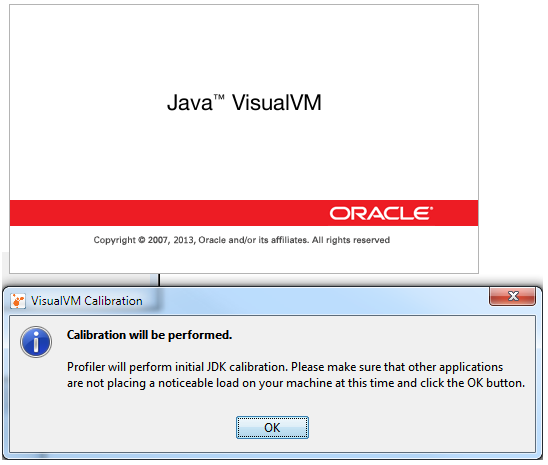 Start Java VisualVM