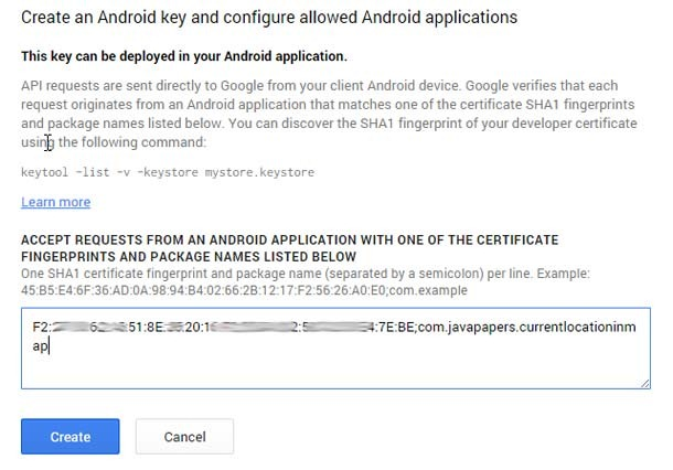 Create-Android-Key