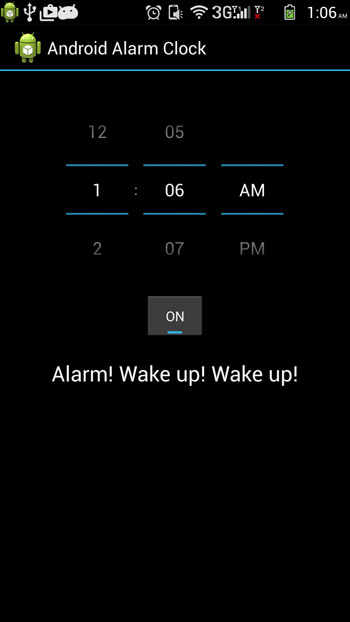 Android Alarm Clock Tutorial - Javapapers