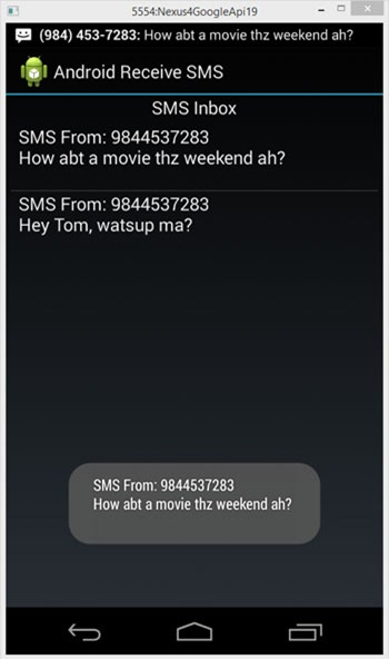 Android-Receive-SMS