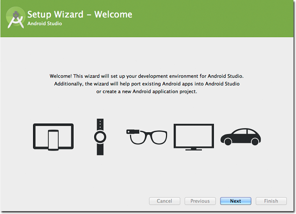 Android Studio Setup Wizard