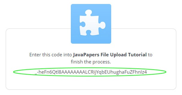 Java-Dropbox-API-Auth-access-code