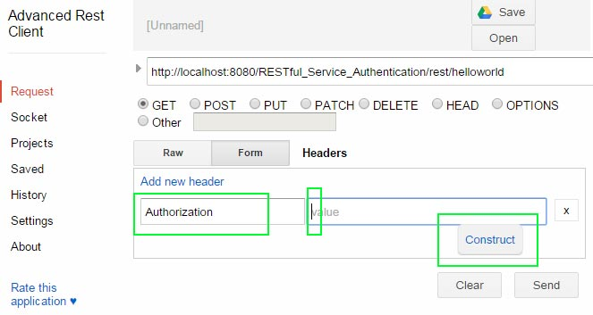 RESTful Services HTTP basic Authentication - Javapapers