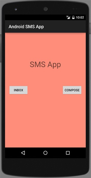 Android-SMS-App