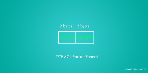 Tftp-Ack-Packet-Format