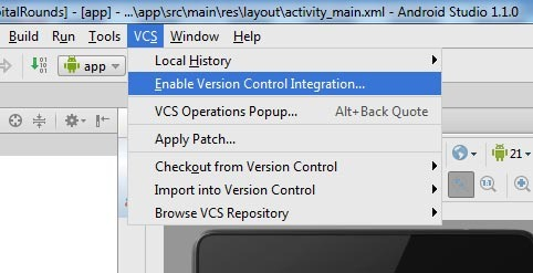 Enable-Version-Control-Integration