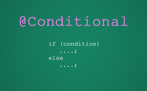 Spring-Conditional