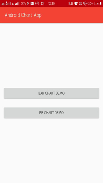 Android Chart Example App