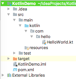 Kotlin Project Structure