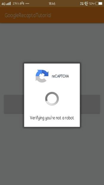 Google-Android-reCAPTCHA-Example