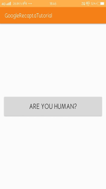 Google-Android-reCAPTCHA-Integration
