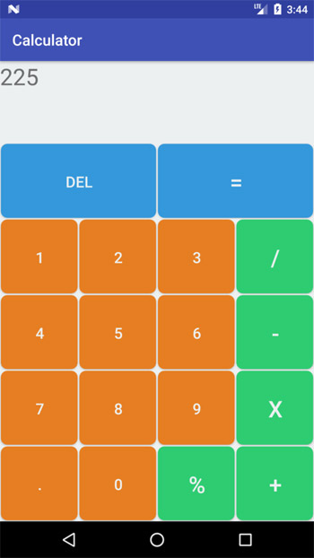 Calculator Input
