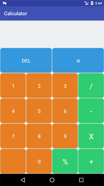 Calculator Screen